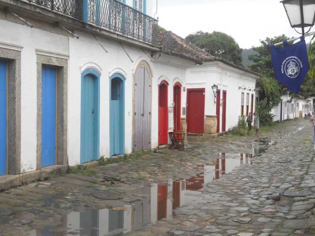 la pluie à Paraty