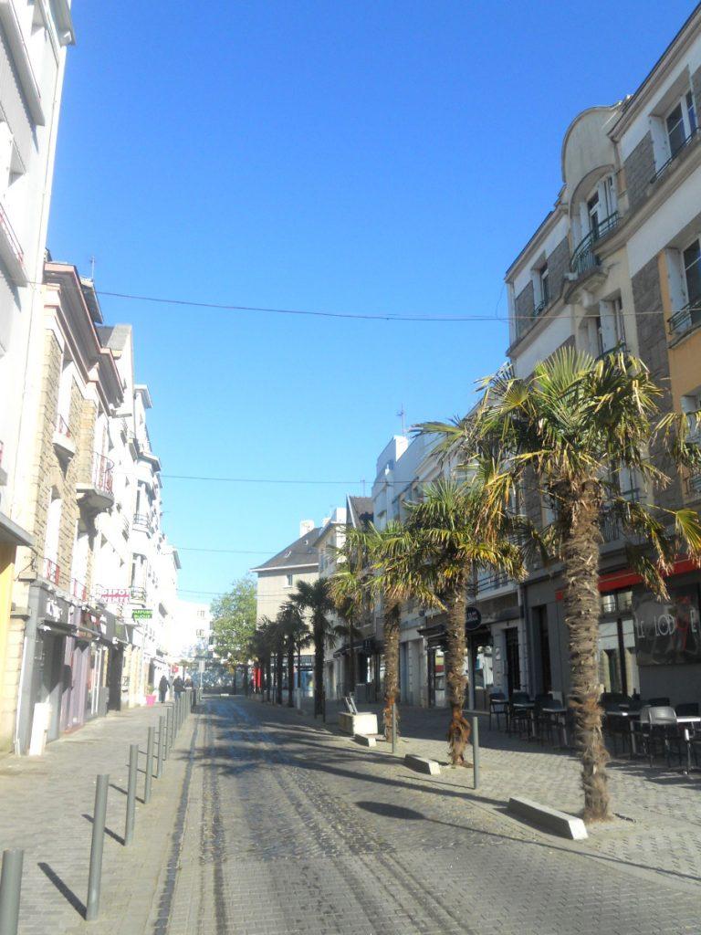 Les rues de Lorient