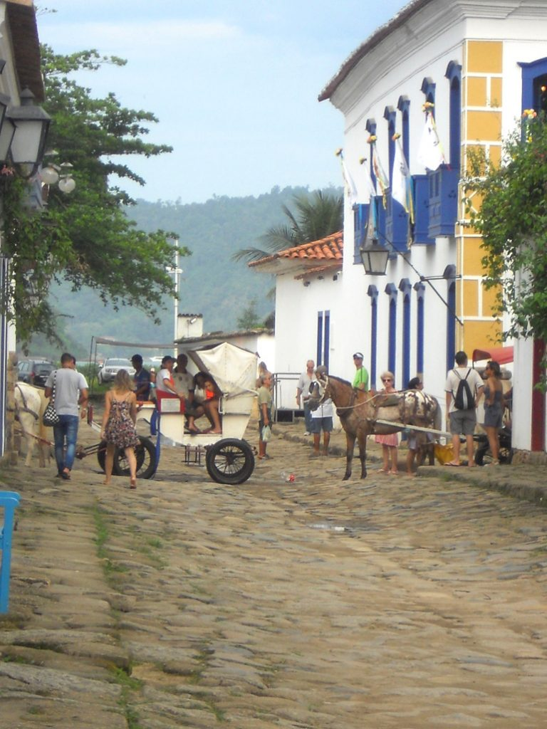 rues de Paraty au Brésil