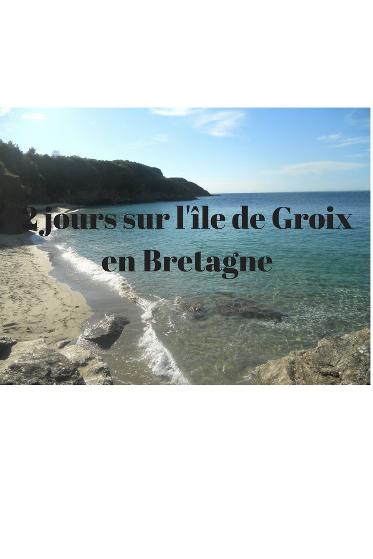 visiter l'île de Groix