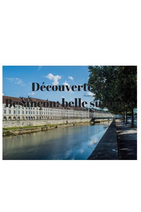 vivre à Besançon