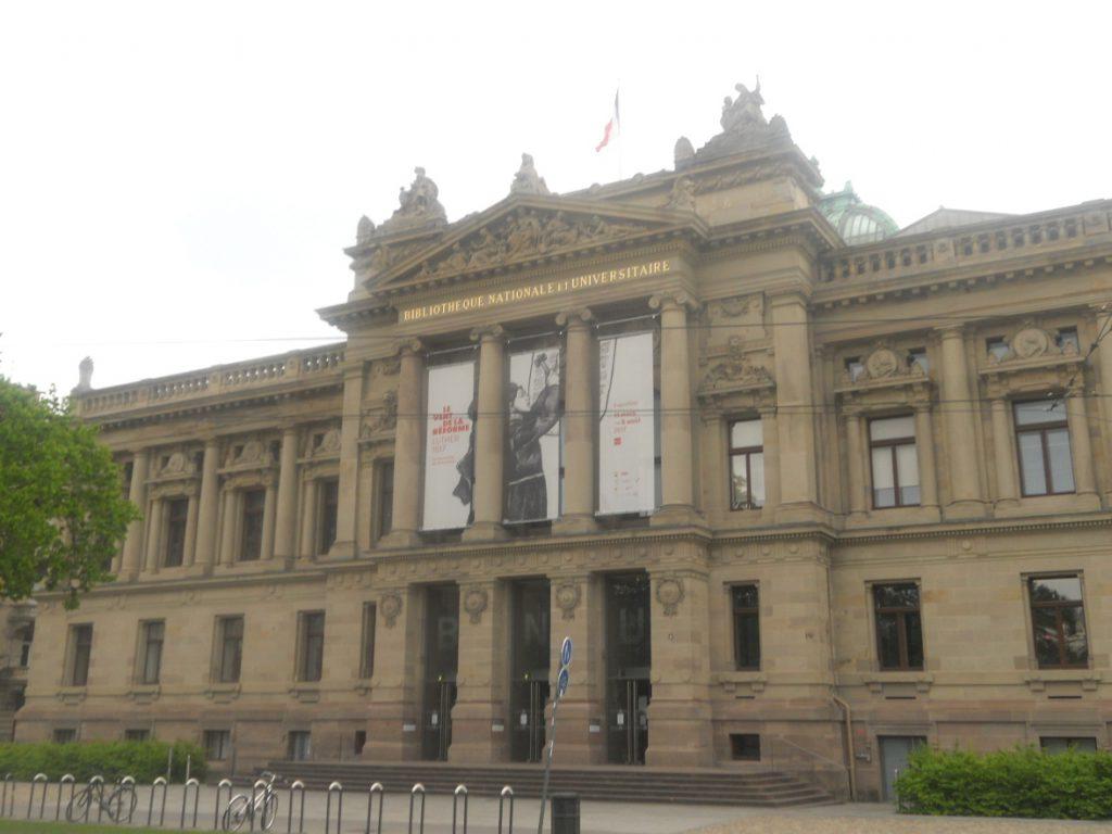 architecture de Strasbourg