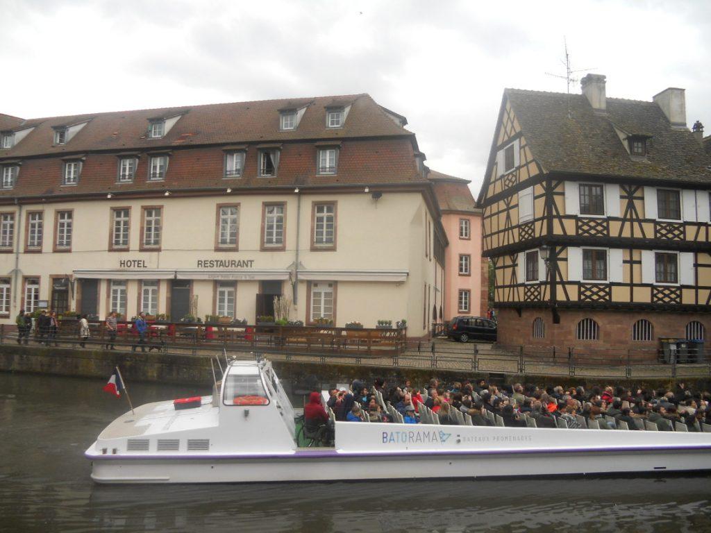 balade en bateau à Strasbourg