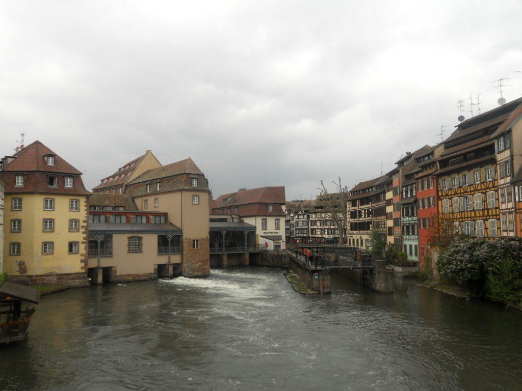 balade fluviale à Strasbourg