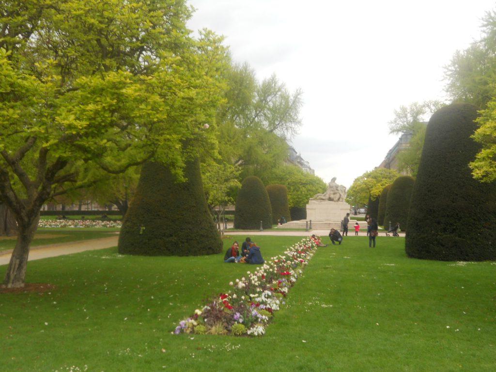 jardin dans quartier impérial de Strasbourg