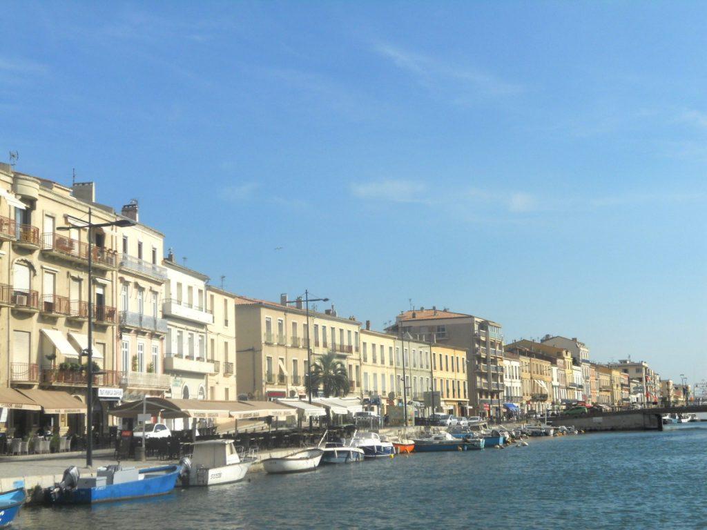 architecture à Sète