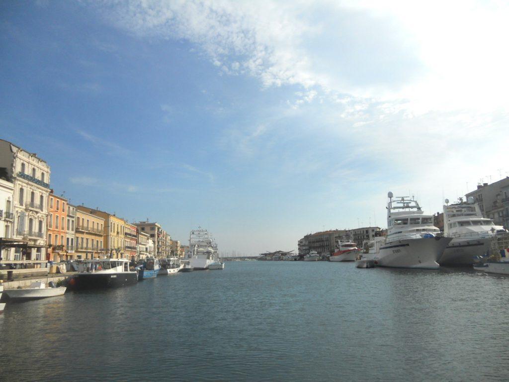 les canaux à Sète