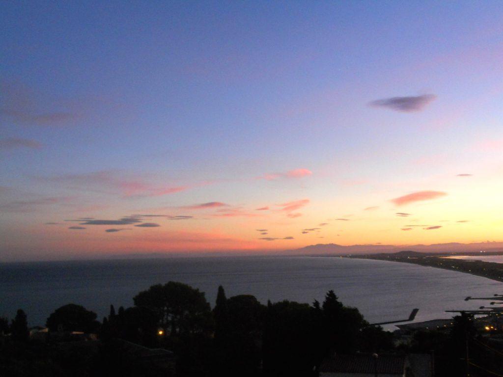 coucher de soleil à Sète