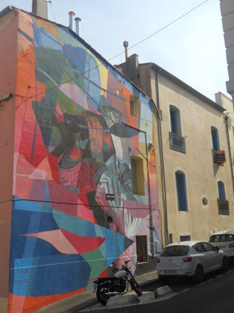 le street art à Sète