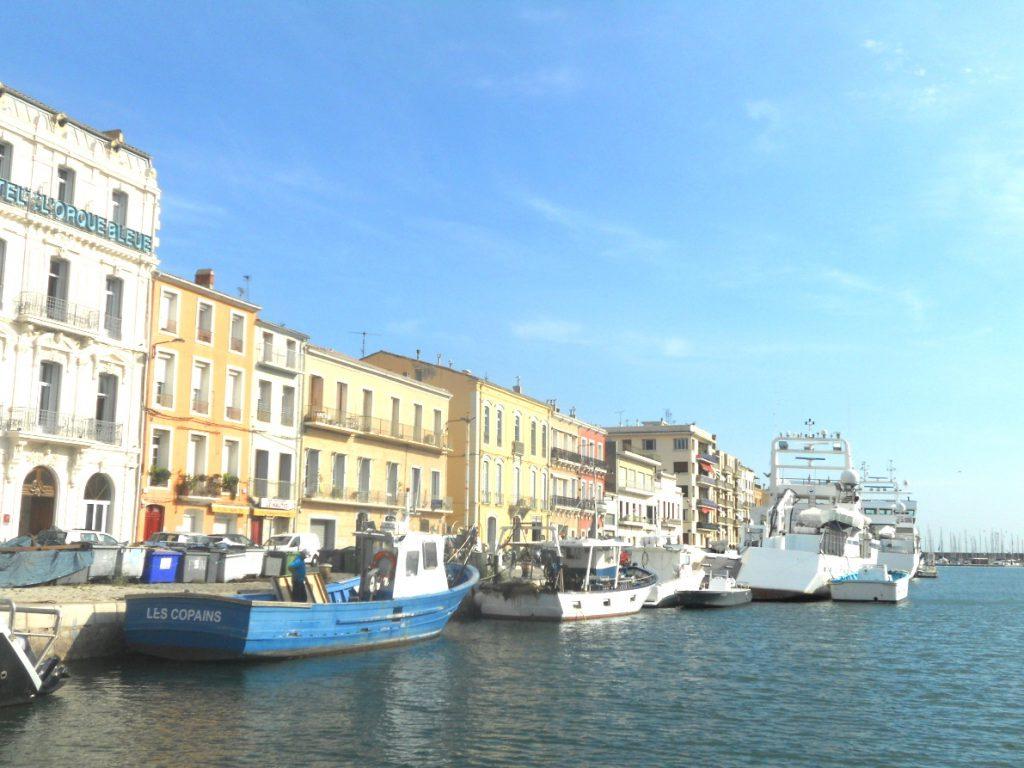 soleil à Sète