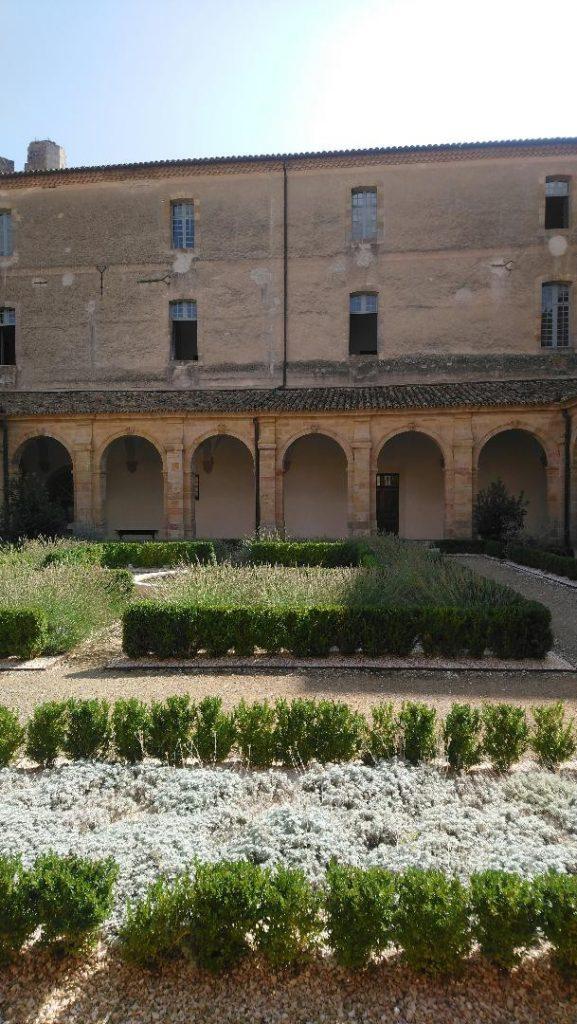 abbaye de Lagrasse partie privée