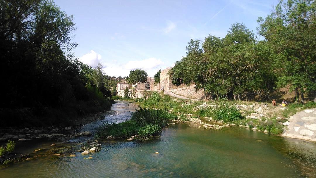 visiter le village de Lagrasse