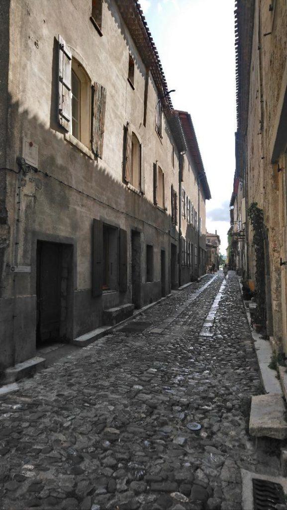 les ruelles du village de Lagrasse