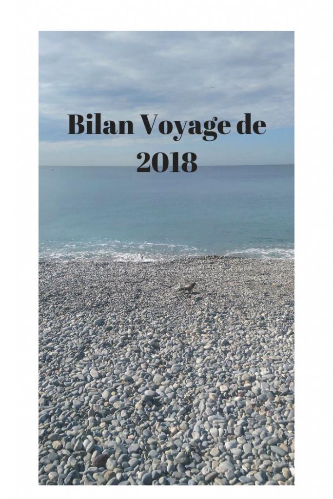 bilan voyage de 2018
