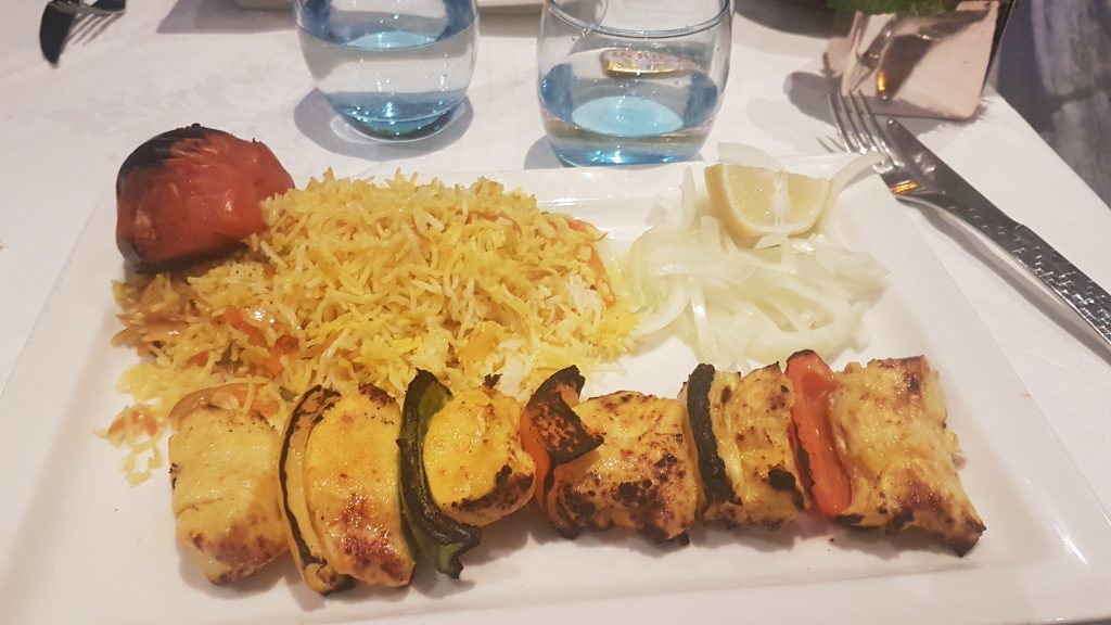 Guylas restaurant iranien à Paris
