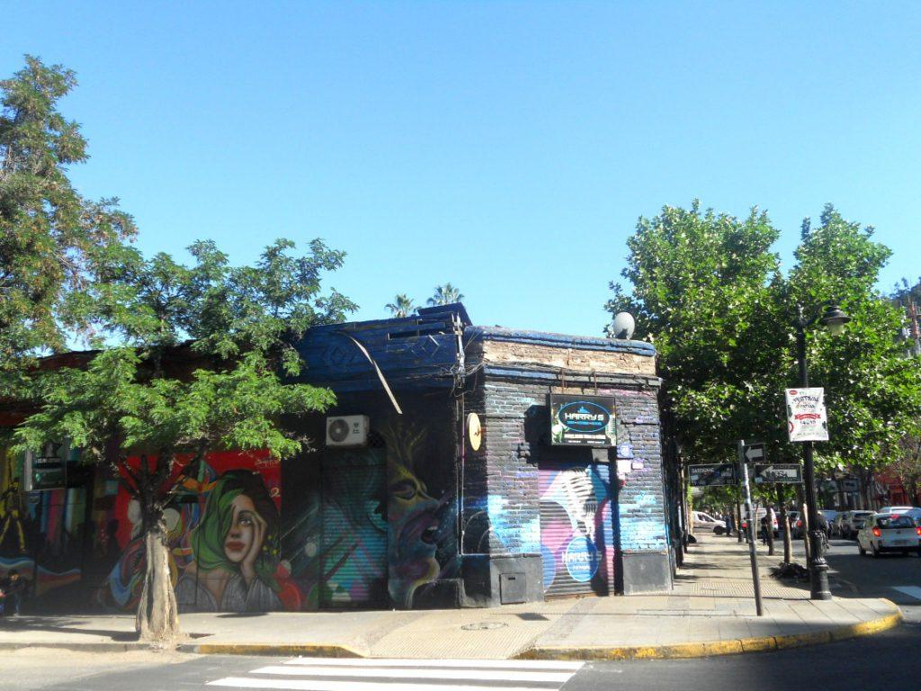 street art à Santiago du Chili