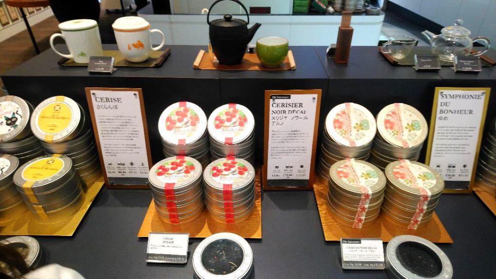 salon de thé japonais à Paris