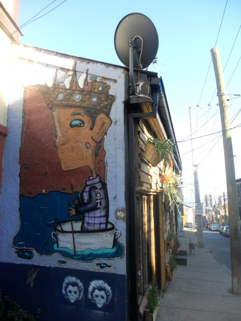 découverte street art à Valparaiso