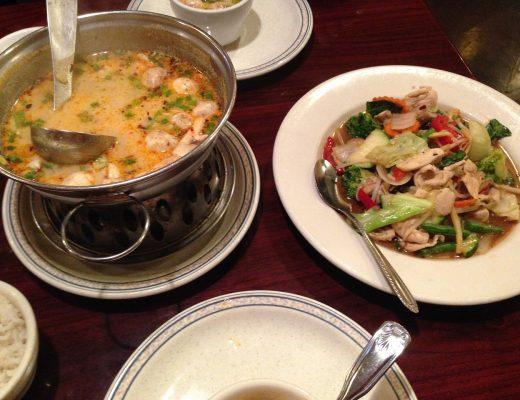 bon restaurant thaïlandais à Paris