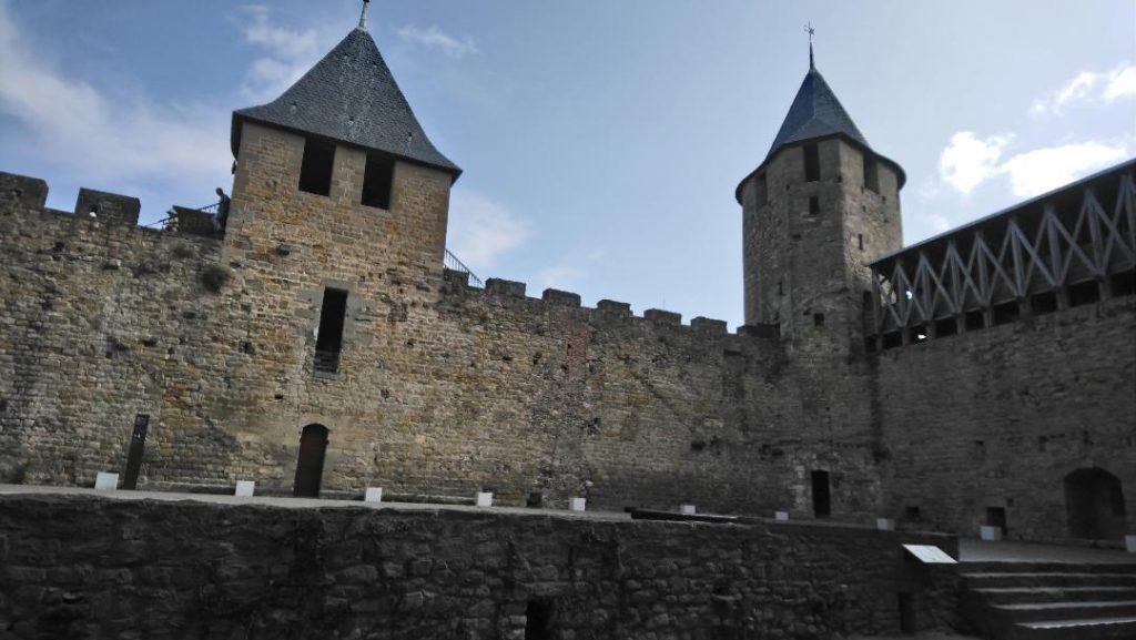 visiter Carcassonne en 2 jours: visiter le château Comtal