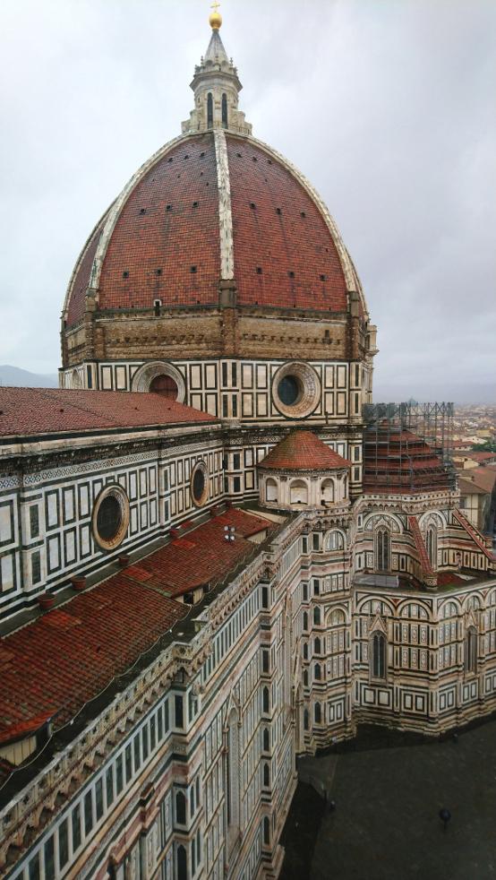 vue depuis le campanile de Florence