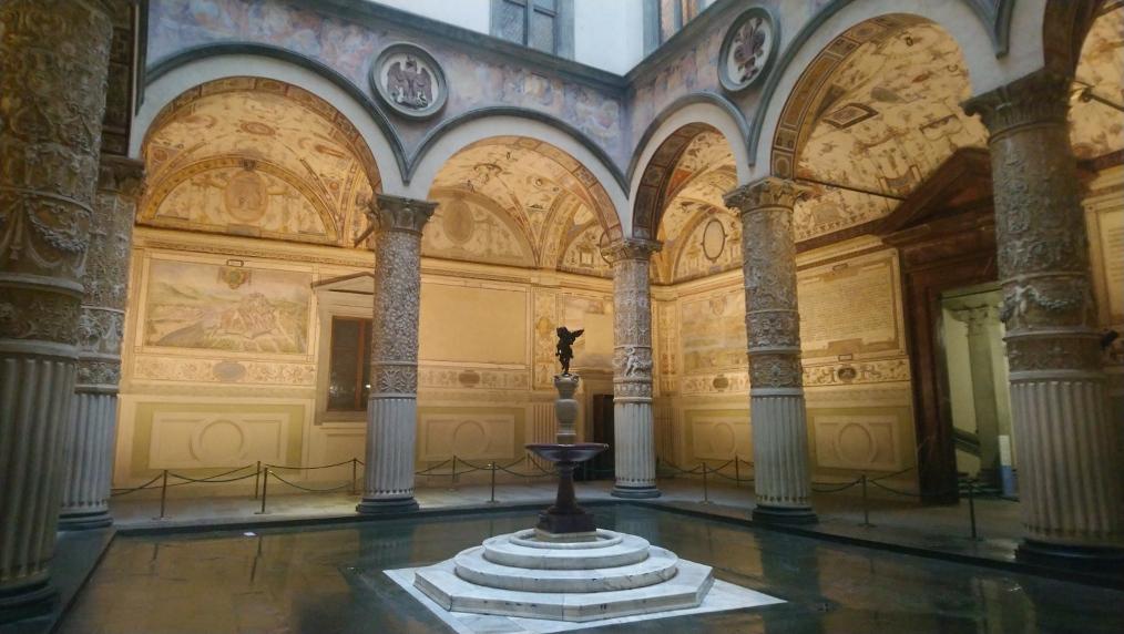 visite du Palais Vecchio à Florence un des incontournables lors d'un week-end de 2 jours à Florence