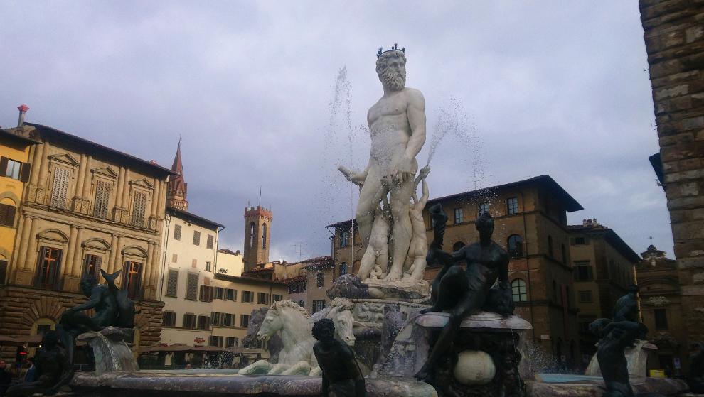 Piazza Della Signora à Florence un incontournable pour un week-end de 2 jours