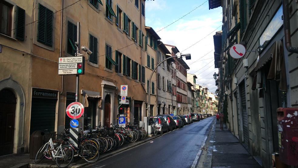 ruelles du centre historique de Florence
