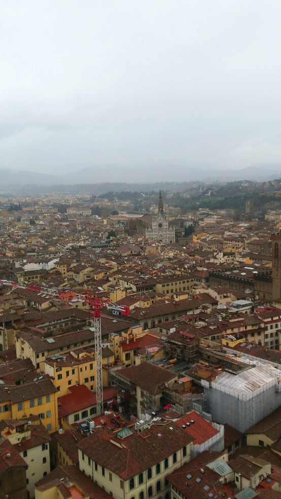 que faire à Florence pendant un week-end de 2 jours à Florence: monter au Campanile