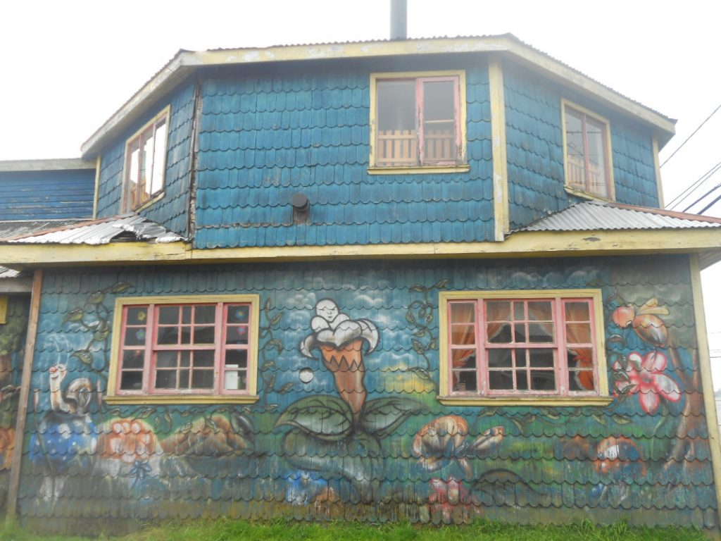 maison traditionnelle de Chiloé
