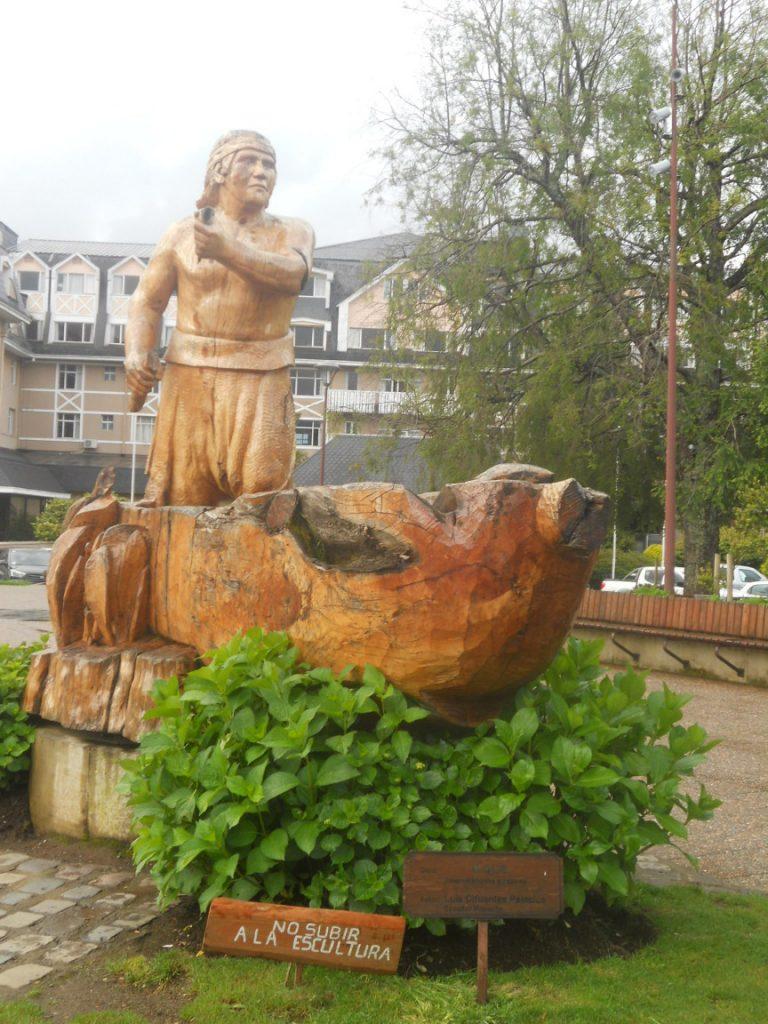 les mapuches sont présents à Pucon et autour