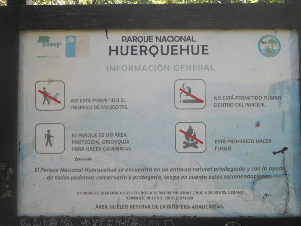 le parc national Herquehue est incontournable dans la région de Pucon au Chili