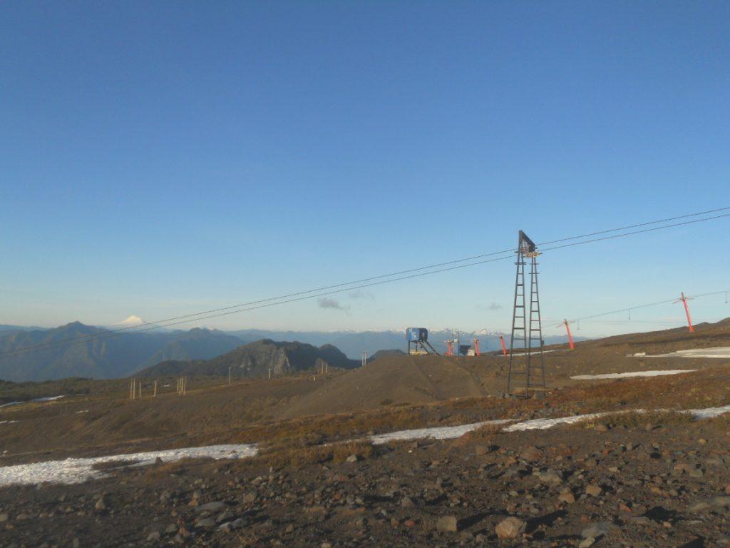 paysages magnifiques de montagne au Chili