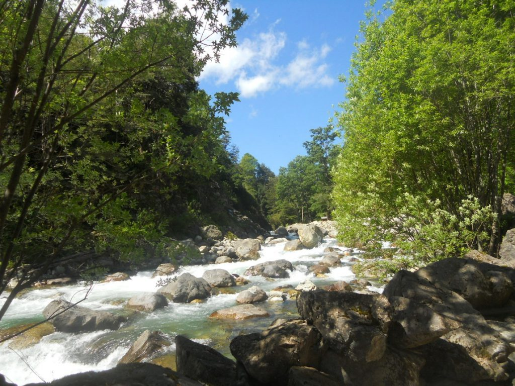 les eaux thermales sont partout dans la région de Pucon