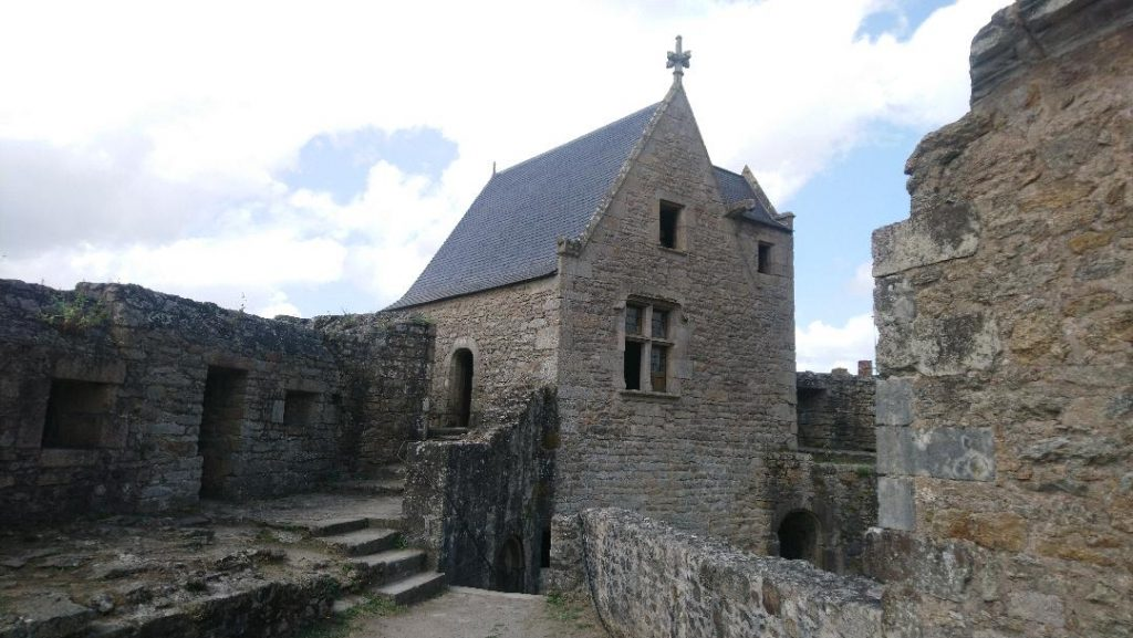 château de Clisson est à visiter lors d'une escapade dans la cité médiévale