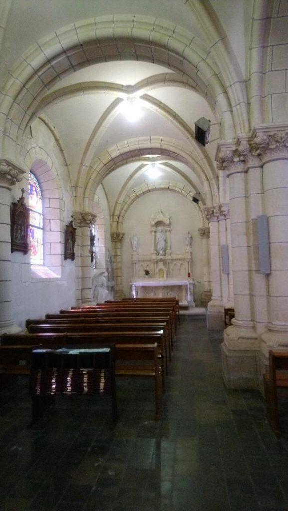 intérieur de l'église de Pornic