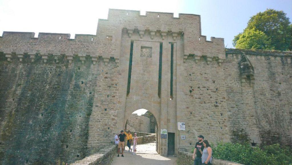 visite du château de Clisson en Loire Atlantique
