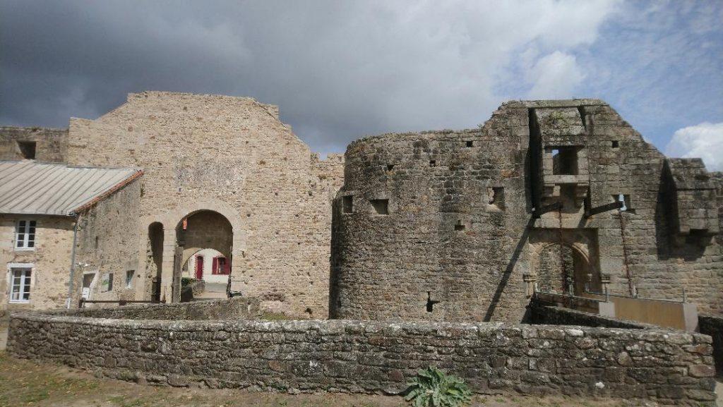 la visite du château de Clisson est un incontournable lors d'une découverte de la ville