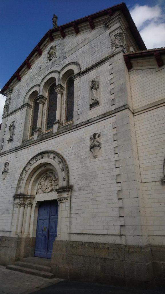 belle église Notre Dame de Clisson
