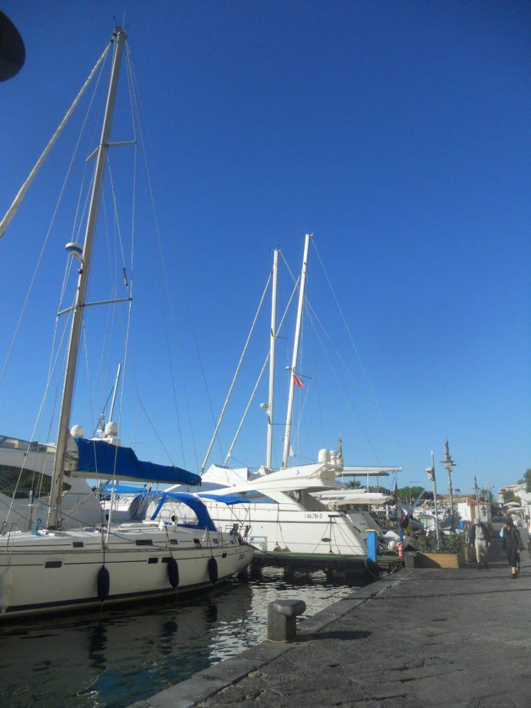 découverte du port de l'île d'Ischia