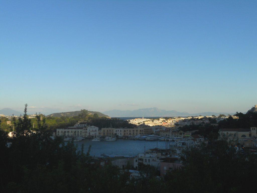 vue de l'île d'Ischia