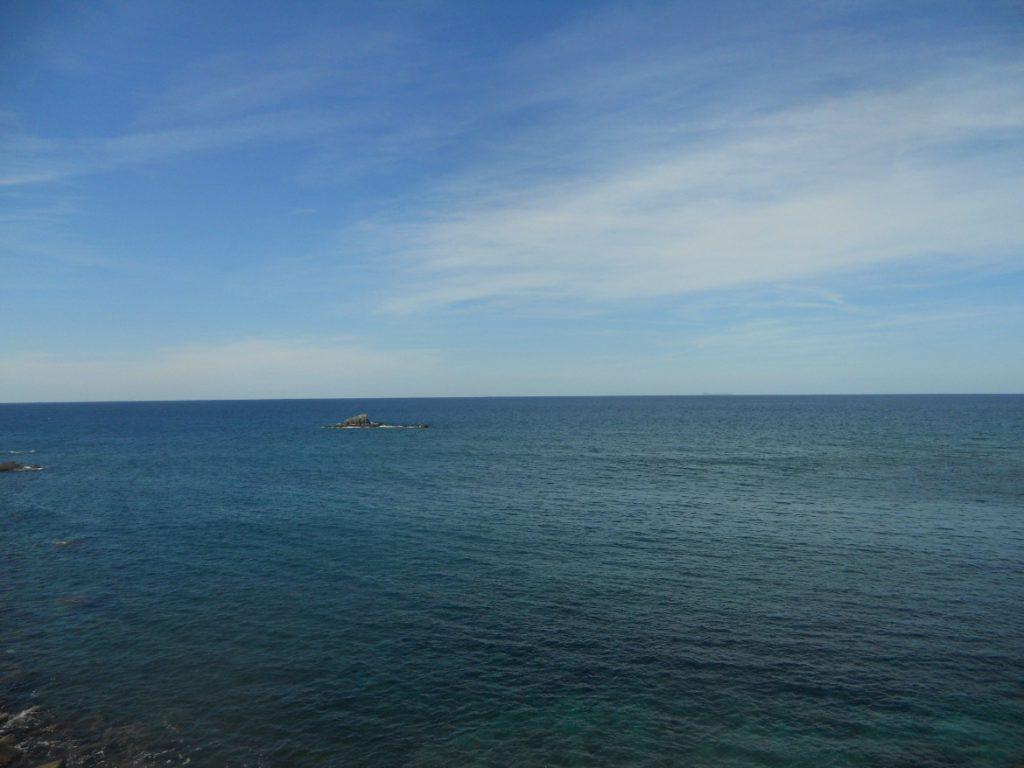 vue de la mer d'Ischia