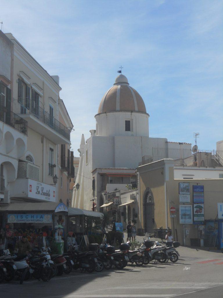 centre de Fioro sur l'île d'Ischia