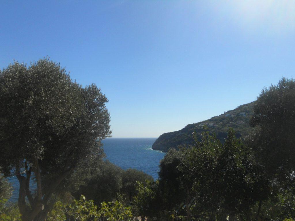 panorama du château aragon de l'île d'Ischia