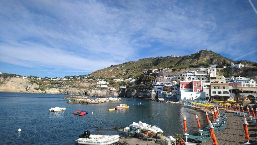 visite de Sant Angelo sur l'île d'Ischia