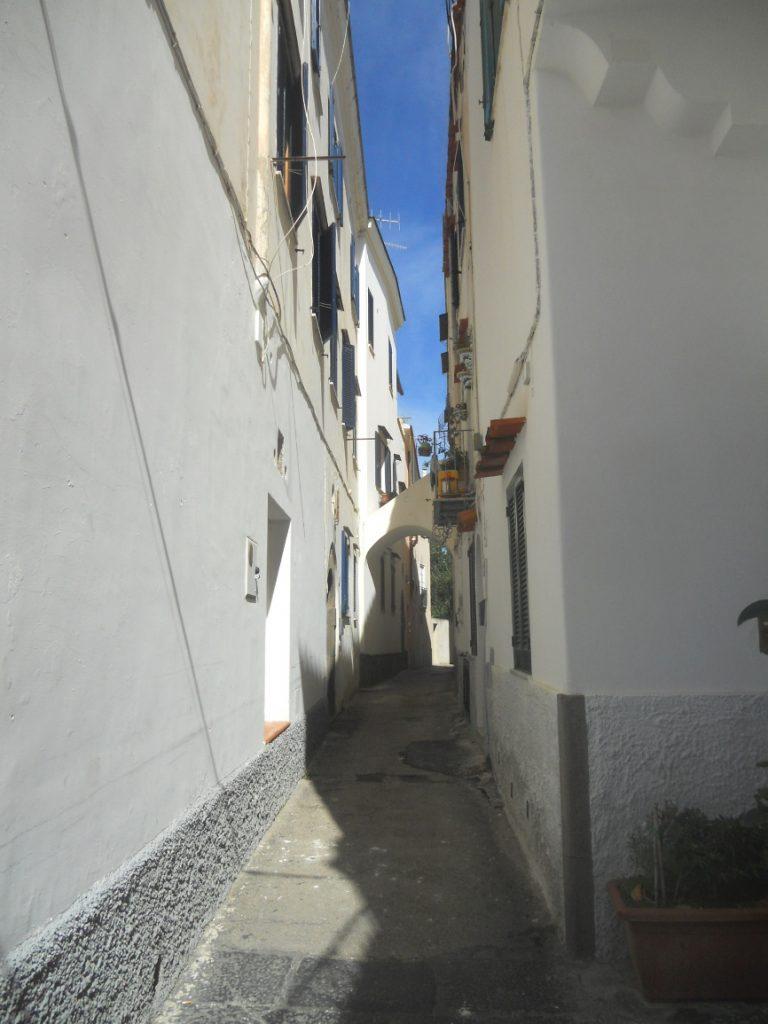 belles ruelles de l'île d'Ischia