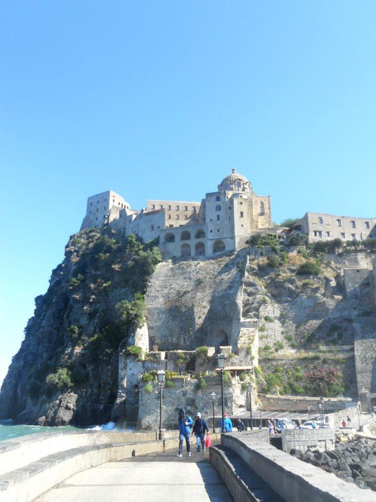 château d'Ischia visite incontournable sur l'île