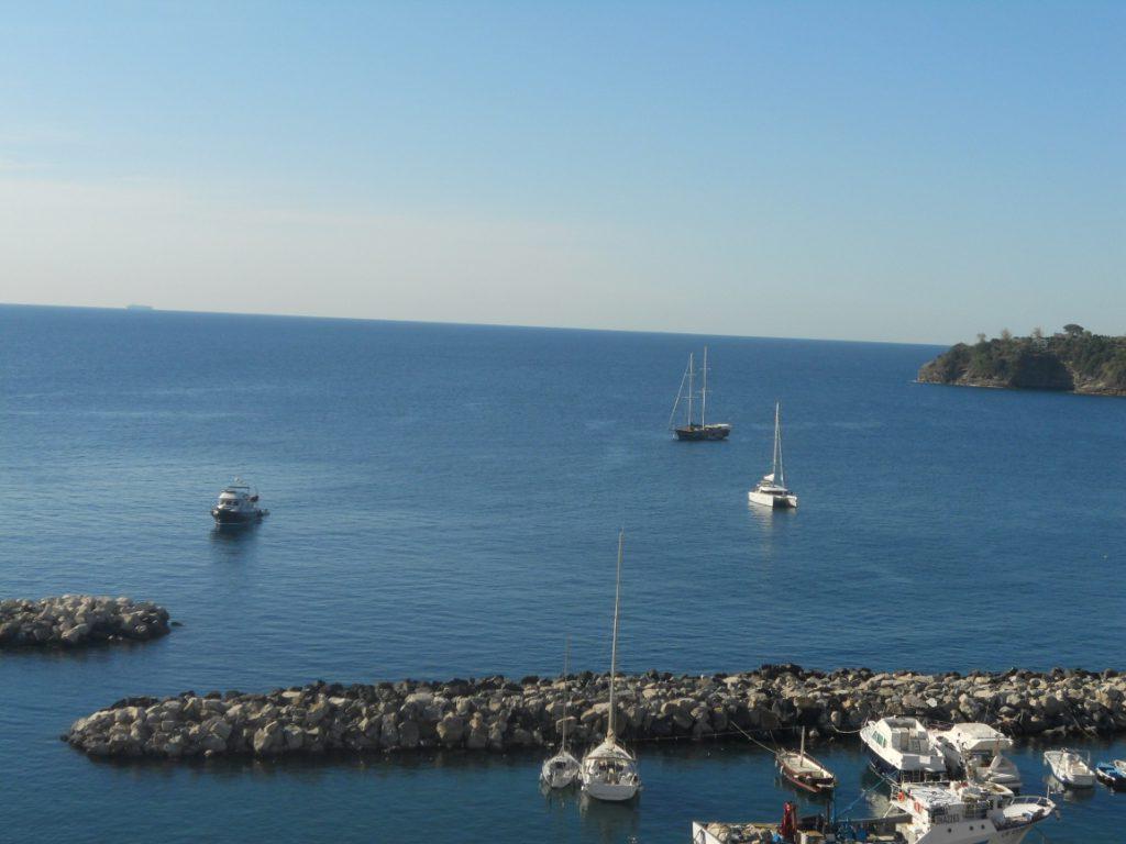 panorama de l'île de Procida en Italie