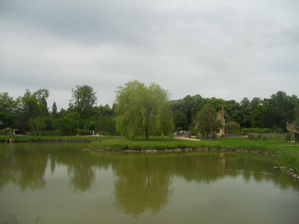 vue du Hameau de la Reine à Versailles