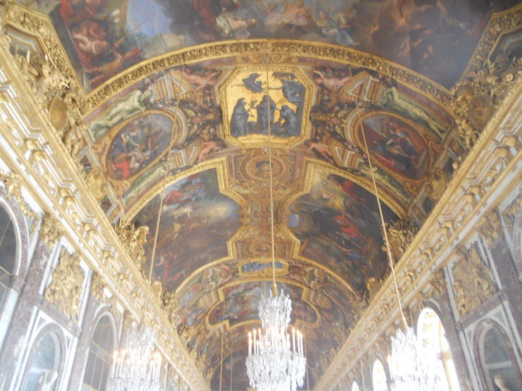 découvrir l'intérieur du château de Versailles